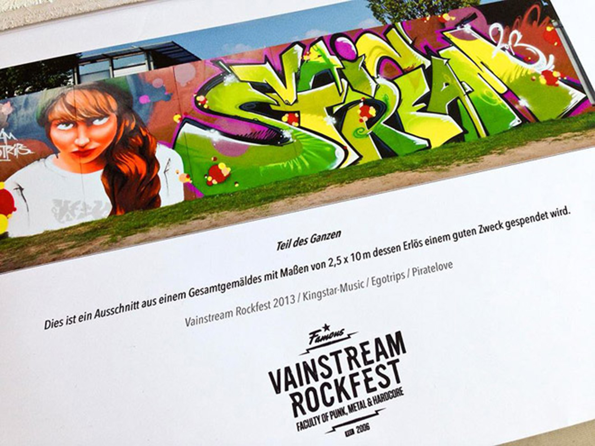 Vainstream, Graffiti, Münster, Festival, Team, Studio Auckz, Bennet Grüttner