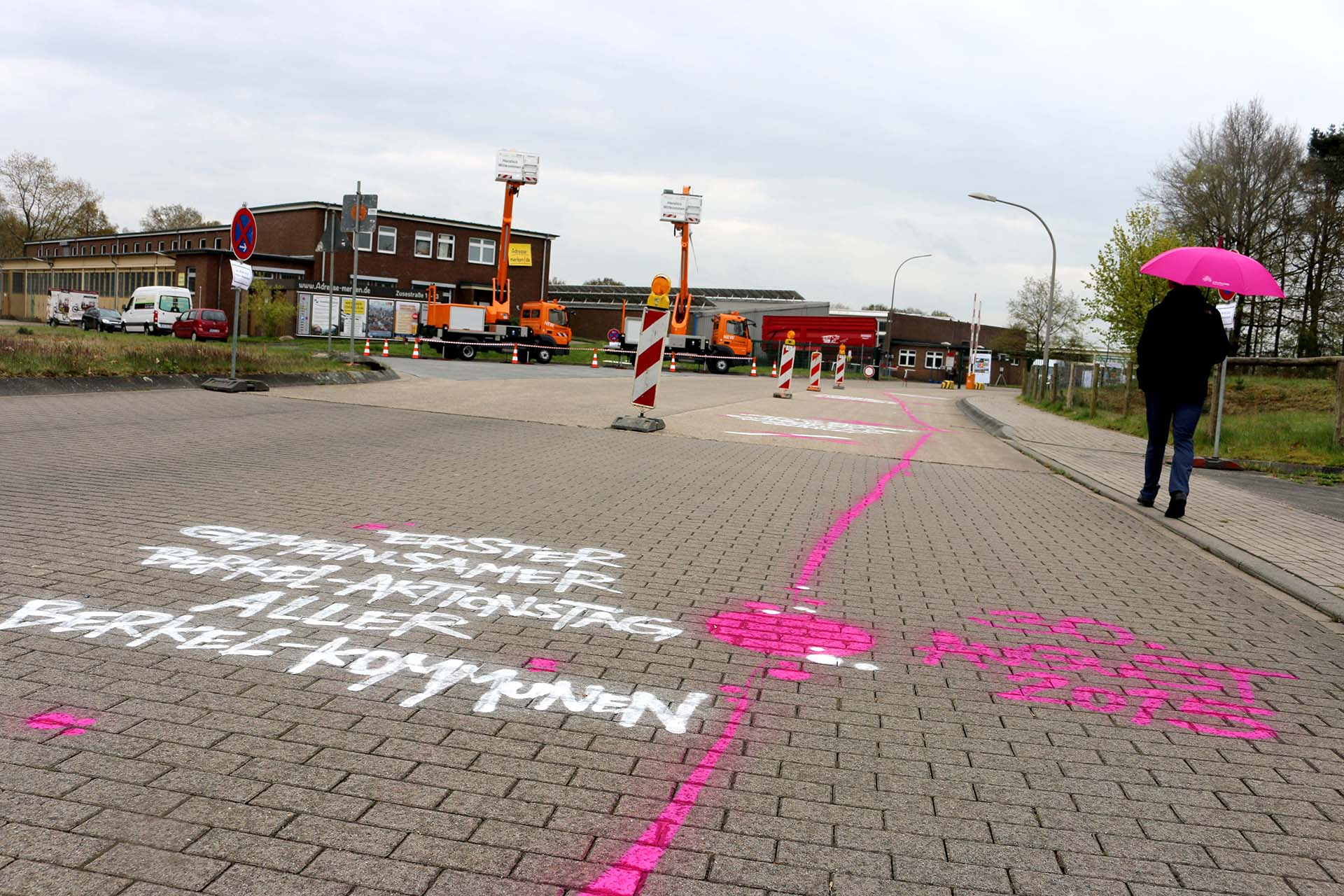 Bodenbemalung, Regionale, Graffiti, Zukunftsland, Coesfeld, Sprayen, Urban, Boden, Bennet Grüttner, Studio Auckz