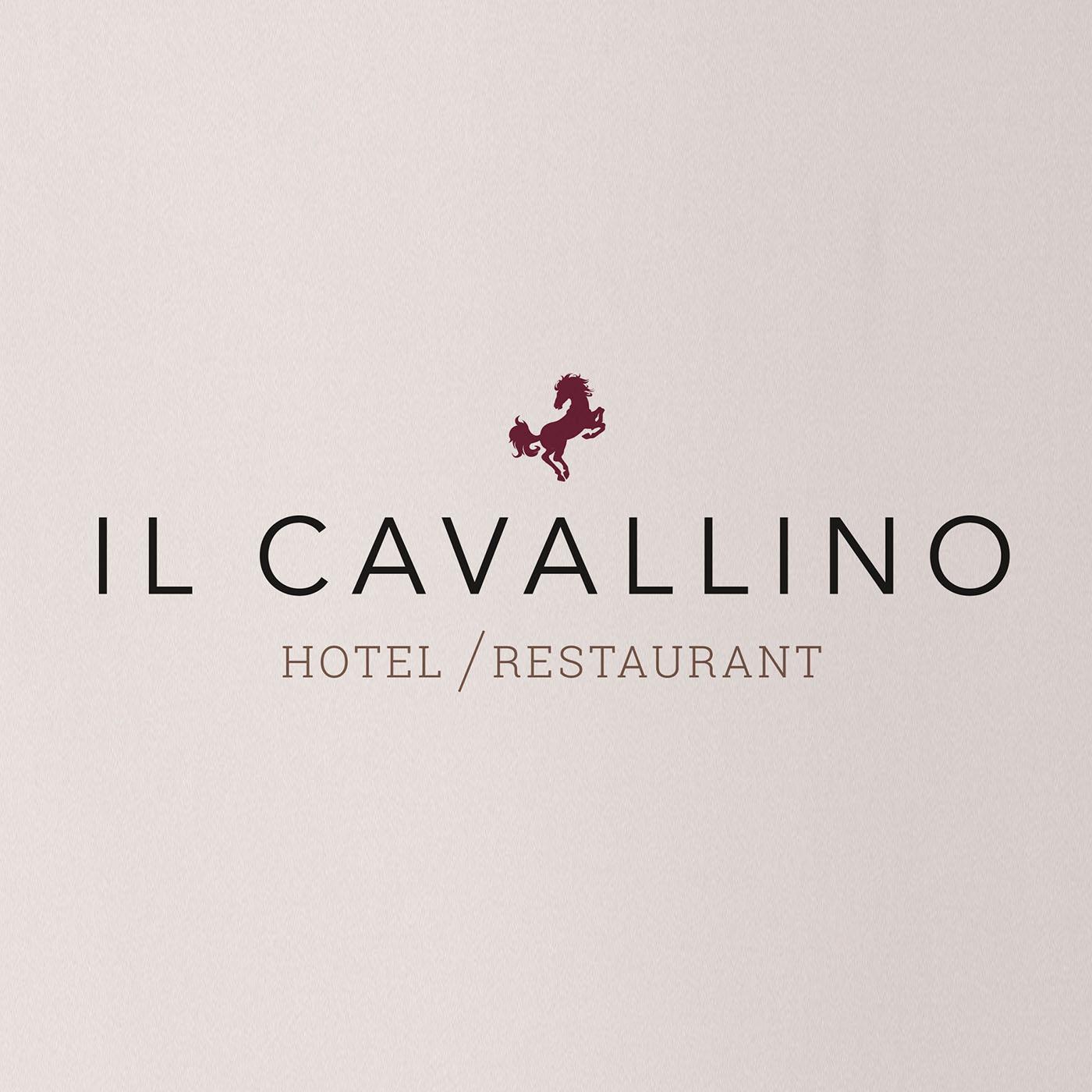 Il Cavallino, Konzept, Grafik, Layout, Logo, Warendorf, Hotel, restaurant, Bennet, Grüttner