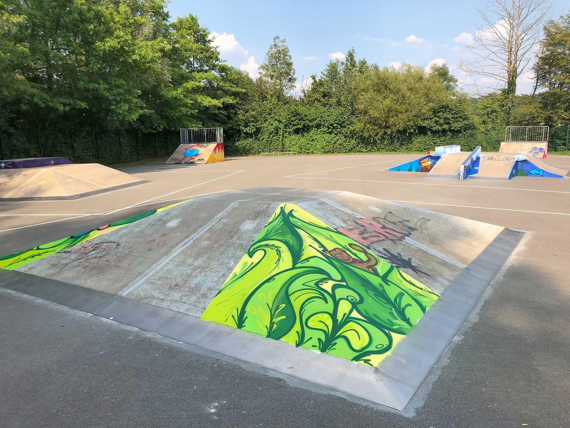 Graffiti-Workshops, Schule, Münster, Graffiti, Workshop, Sprayen, Aktion, Bennet Grüttner