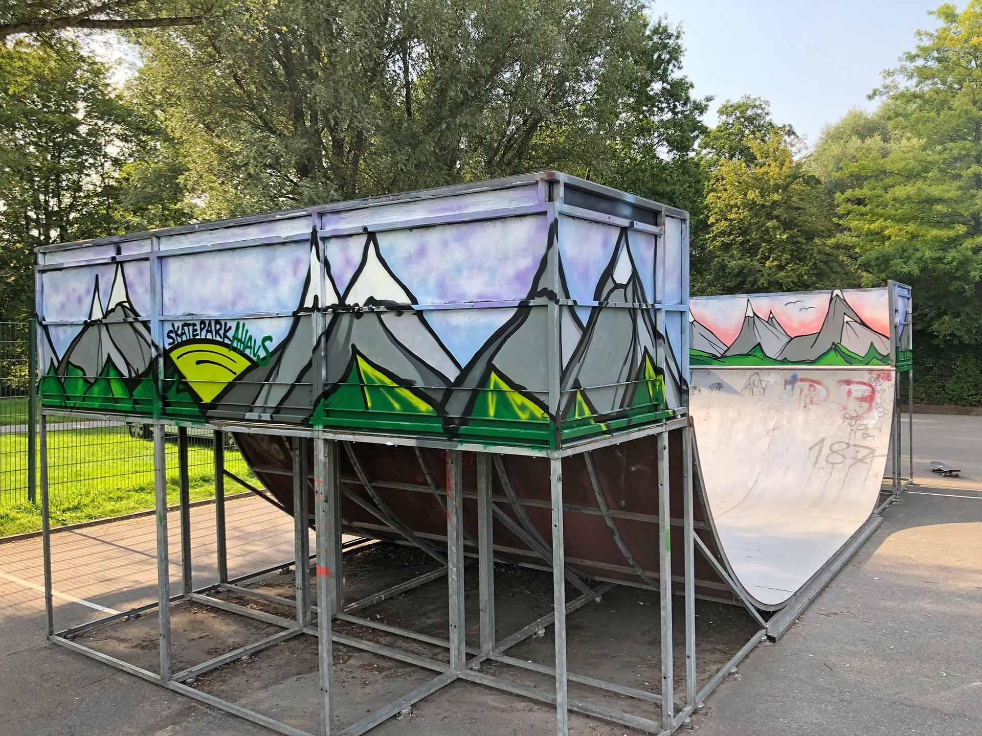 Graffiti-Workshop, Schule, Münster, Graffiti, Workshop, Sprayen, Aktion, Bennet Grüttner
