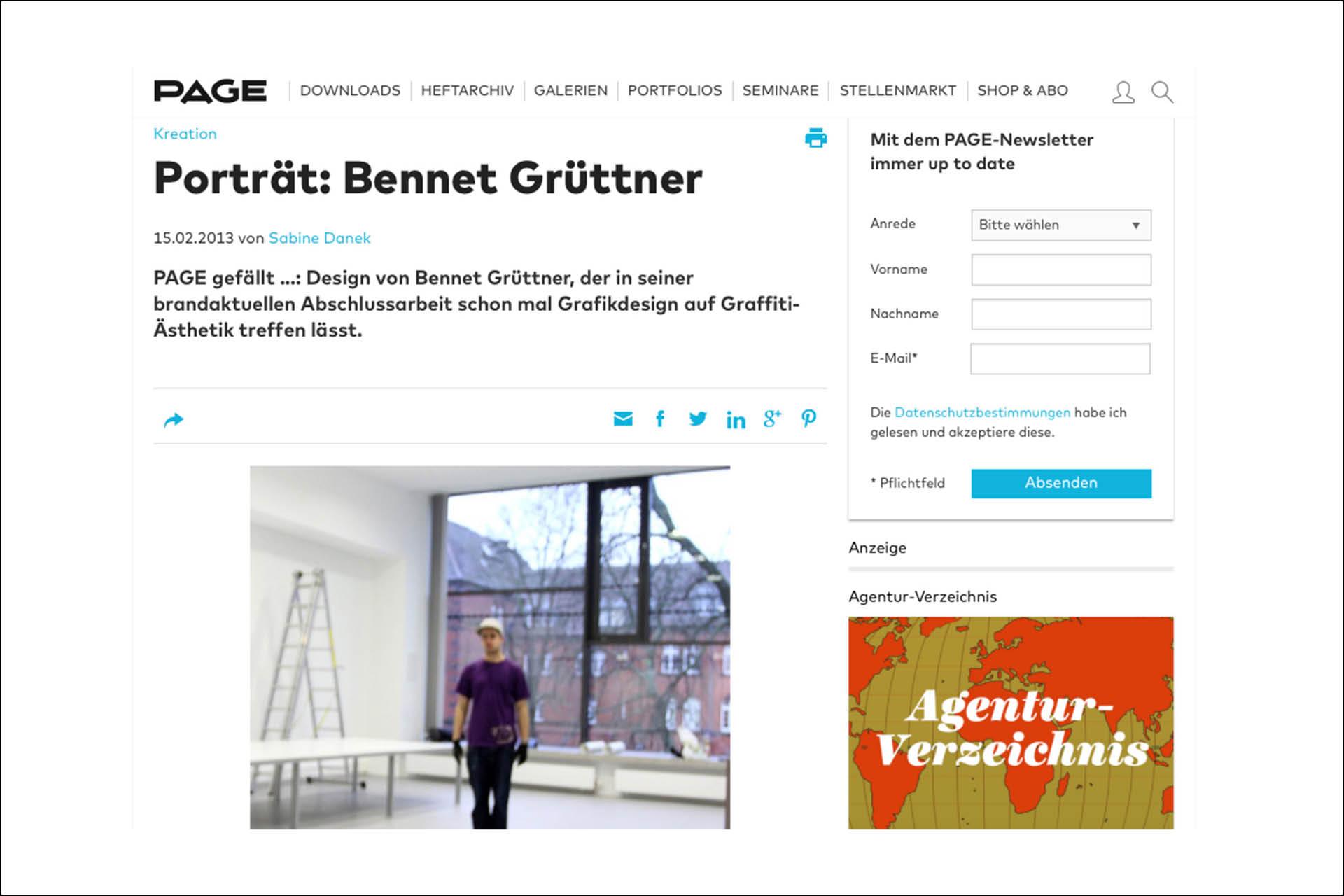 Presse, Artikel, Graffiti, Design, Auckz, Internet, Bericht, Grüttner