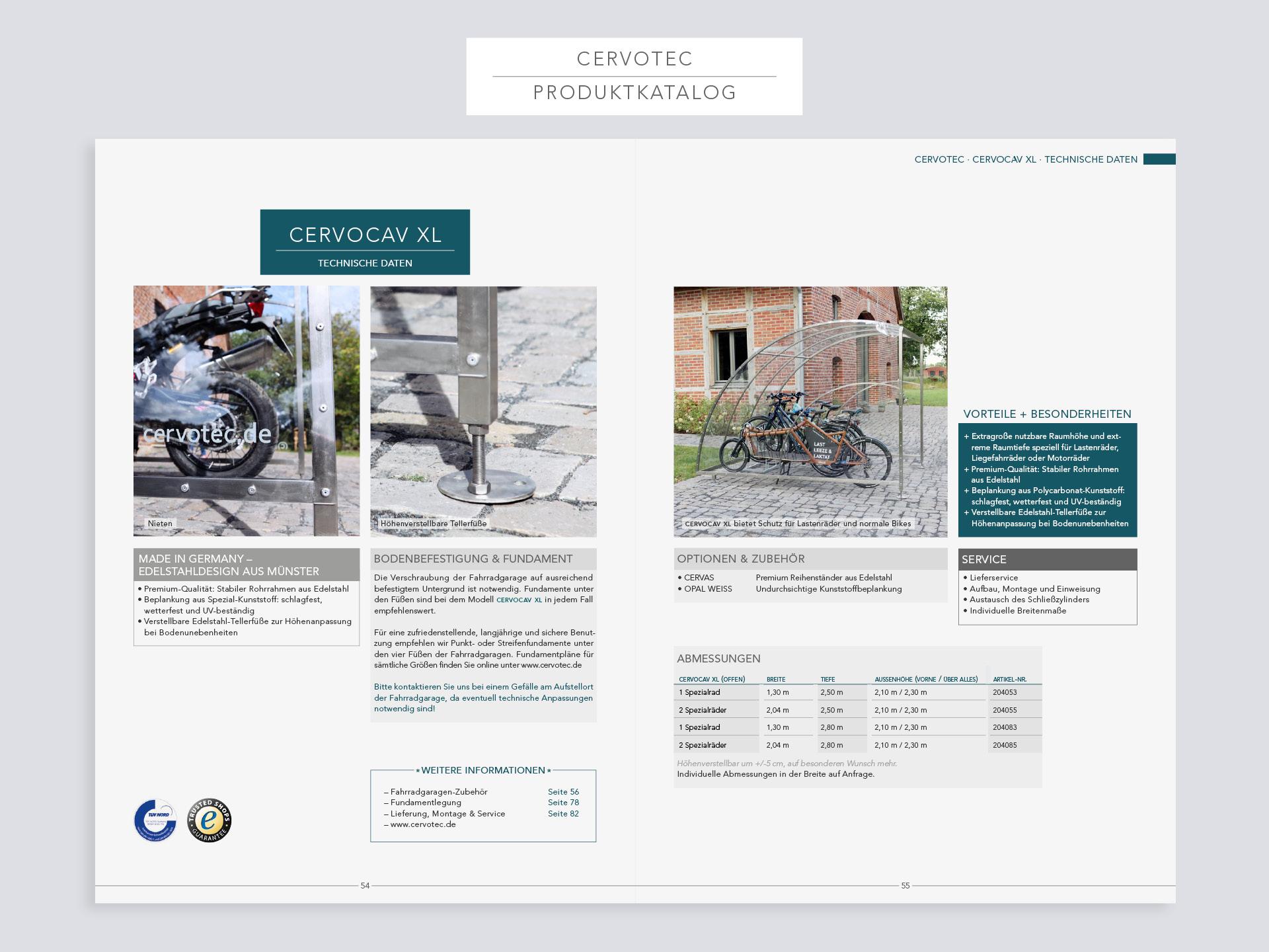 Corporate-Design Cervotec