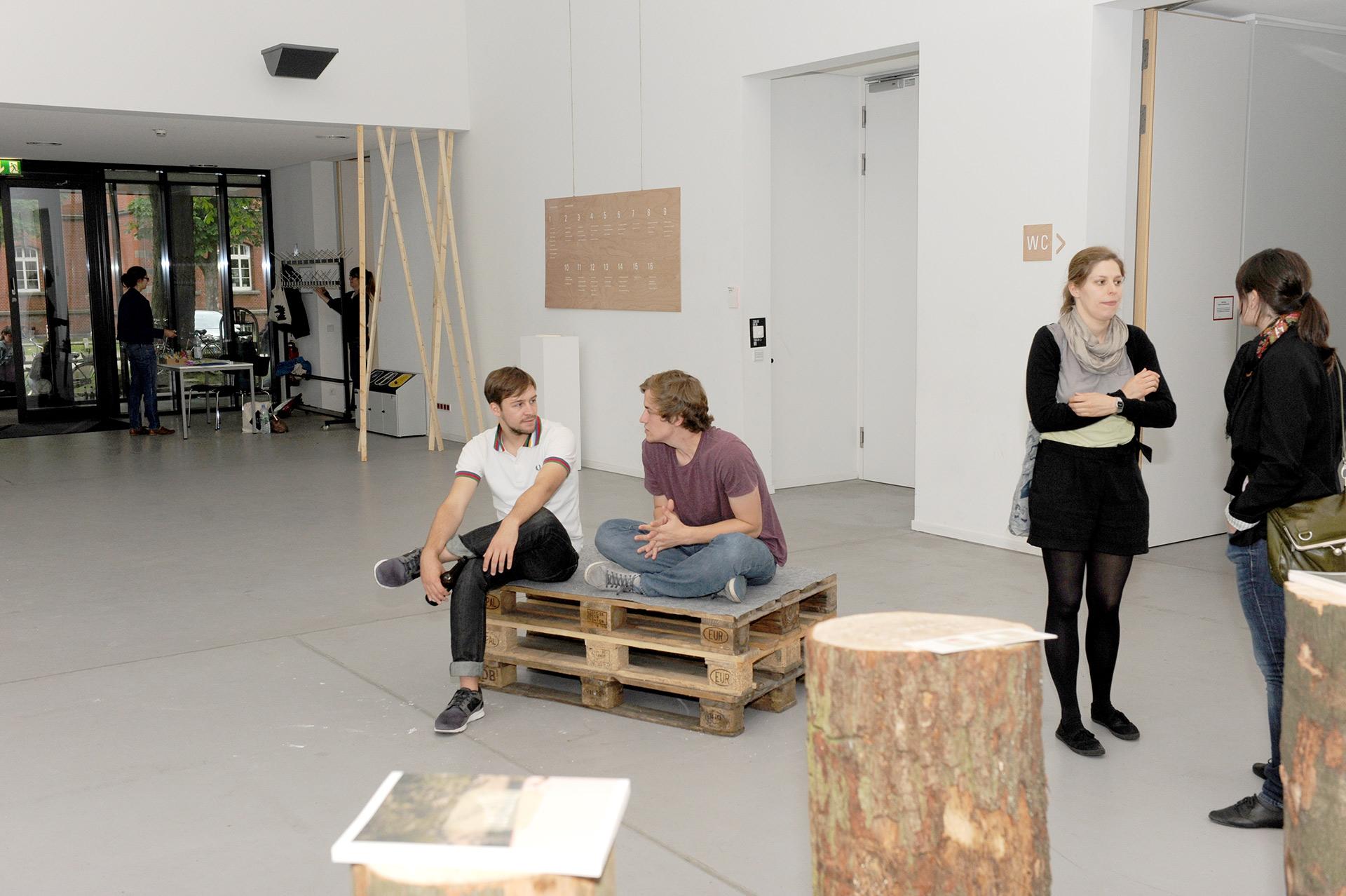Parcours, Design, Konzept, Münster, Layout, Ausstellung, Fh, Katalog, Abschluss, Grafik