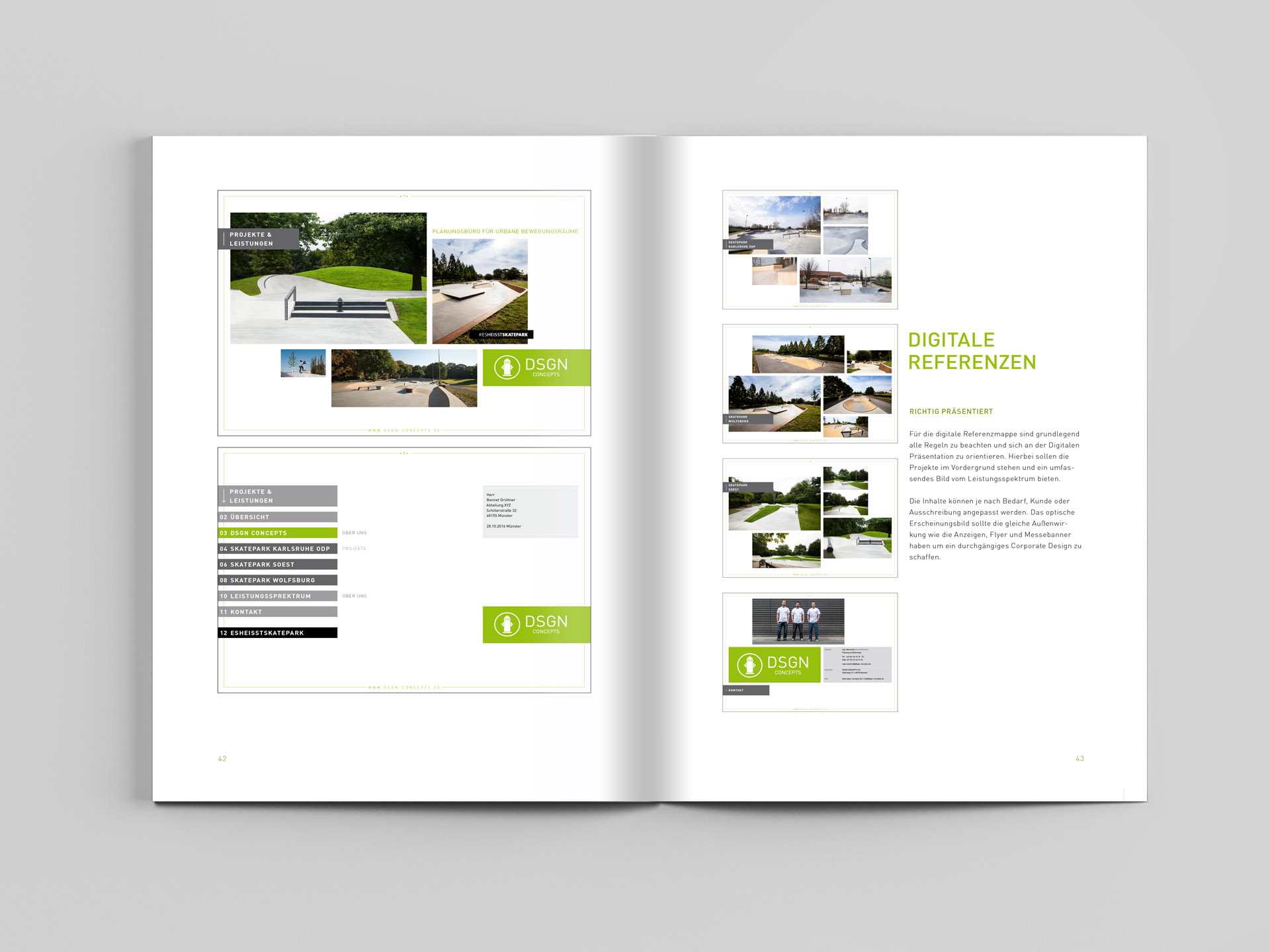 Redesign DSGN Concepts Corporate Design