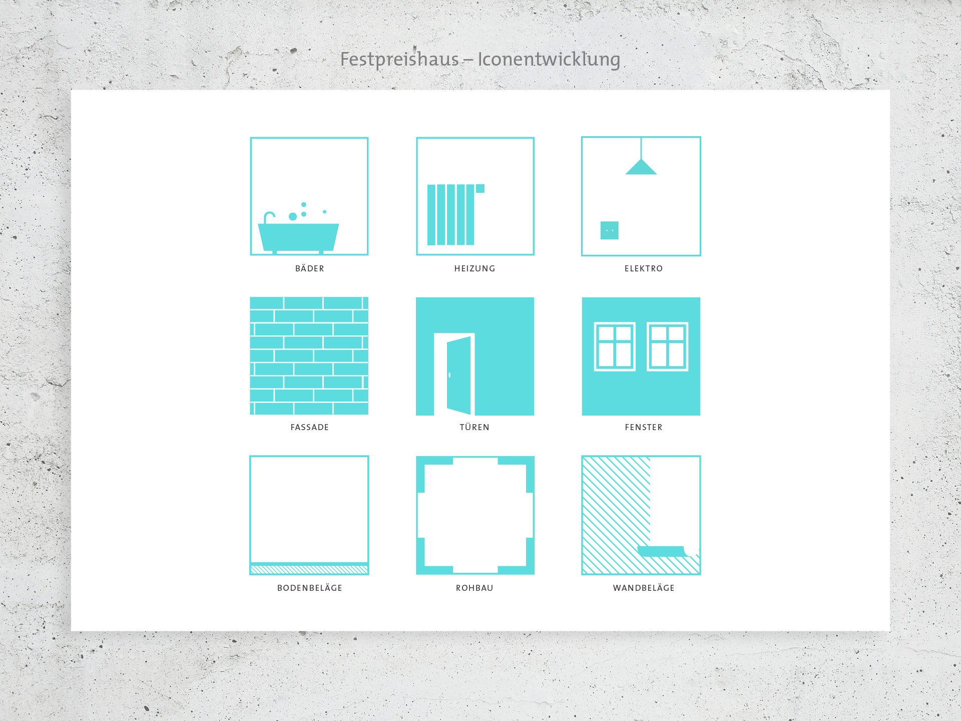 Corporate-Design Logo Grafik Festpreishaus Design Konzept Studio Auckz