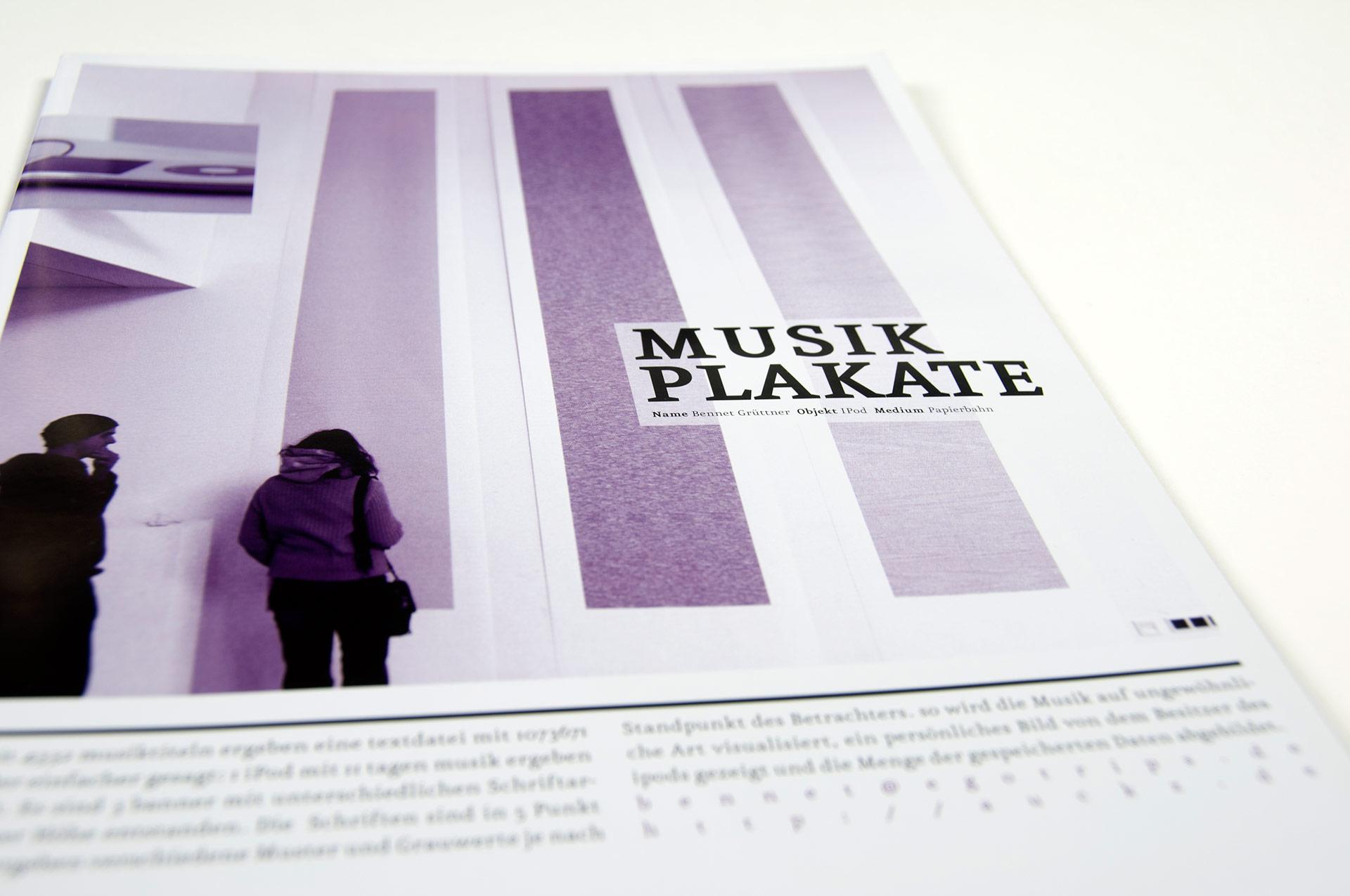 Objekt, Doku, Design, Projekt, Fh, Münster, Grafik, Plakate, Heft, Magazin, Bennet Grüttner