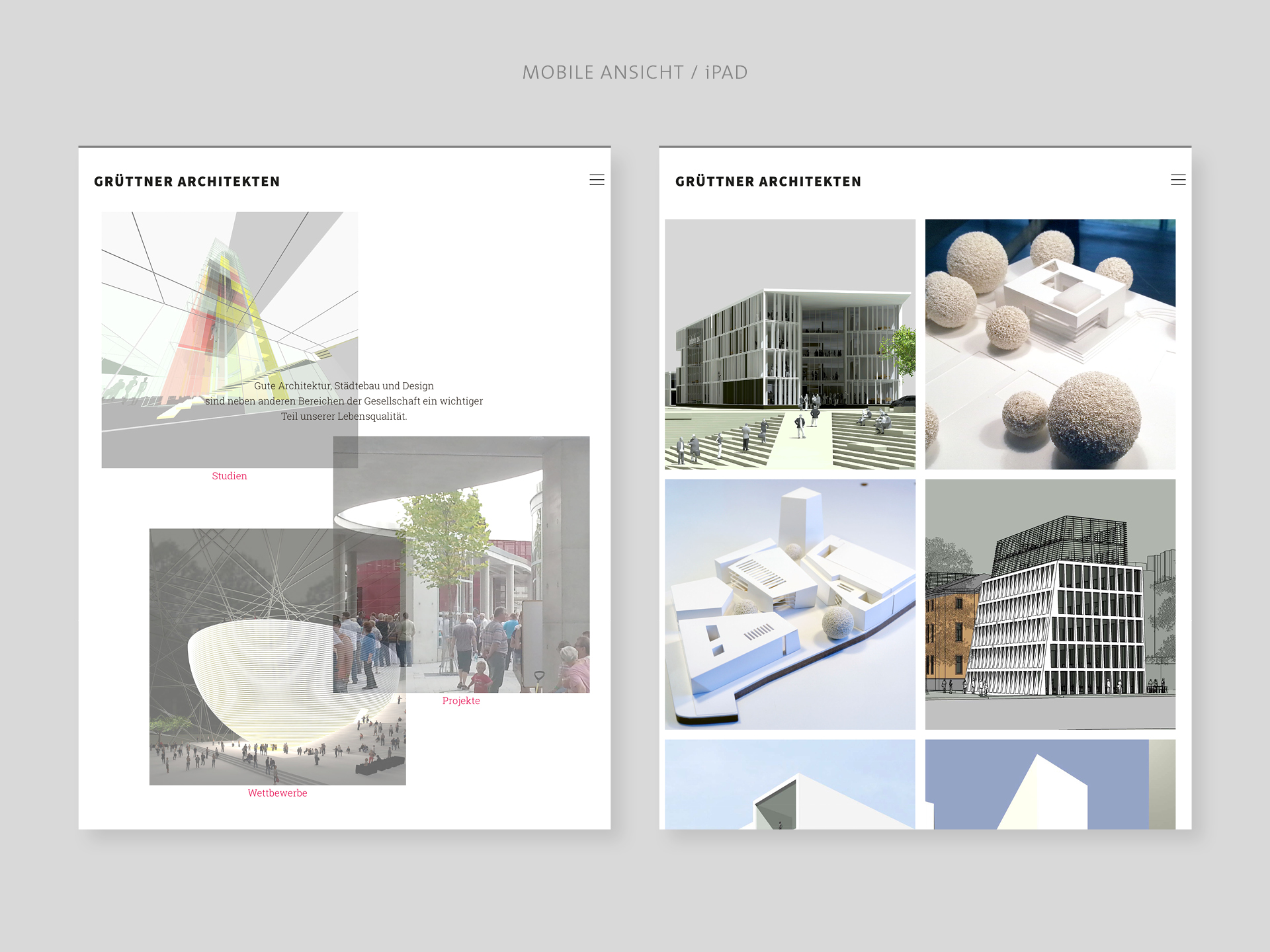 Website, Architektur, Webdesign, Konzept, Layout, Re-design, Bennet, Grüttner, Münster, Auckz
