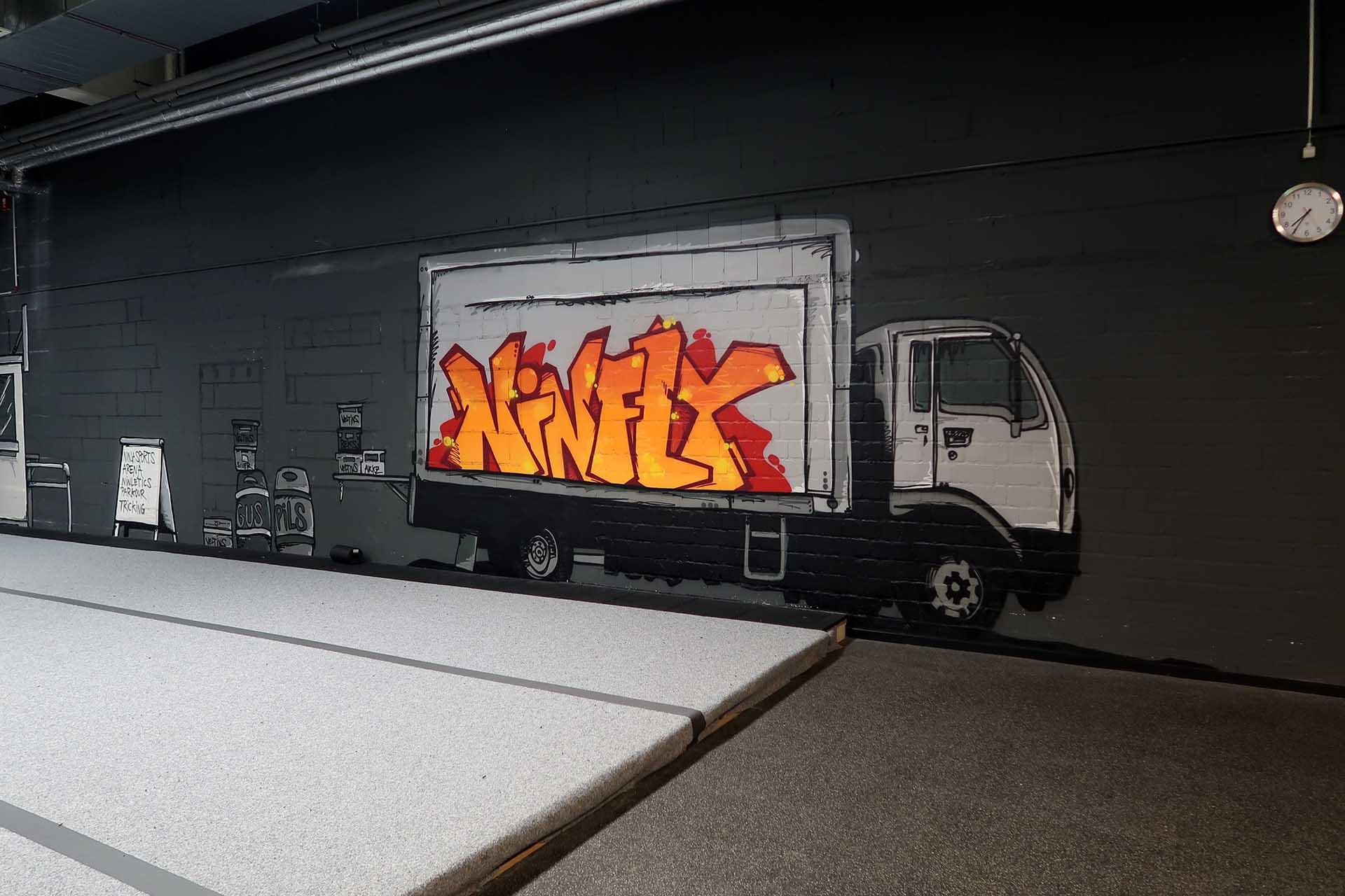 Ninfly, Graffiti, Kulissen, Metro, Häuser, Themenwelt, Sprayen, Design, Bennet Grüttner