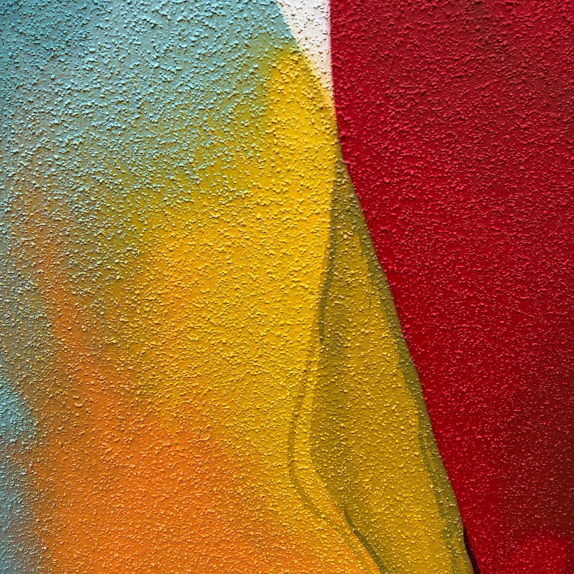 Aquarell-Graffiti, Graffiti, Aquarell, Design, Wand, Münster, Figuren, Sprayen, Bennet Grüttner, Studio Auckz