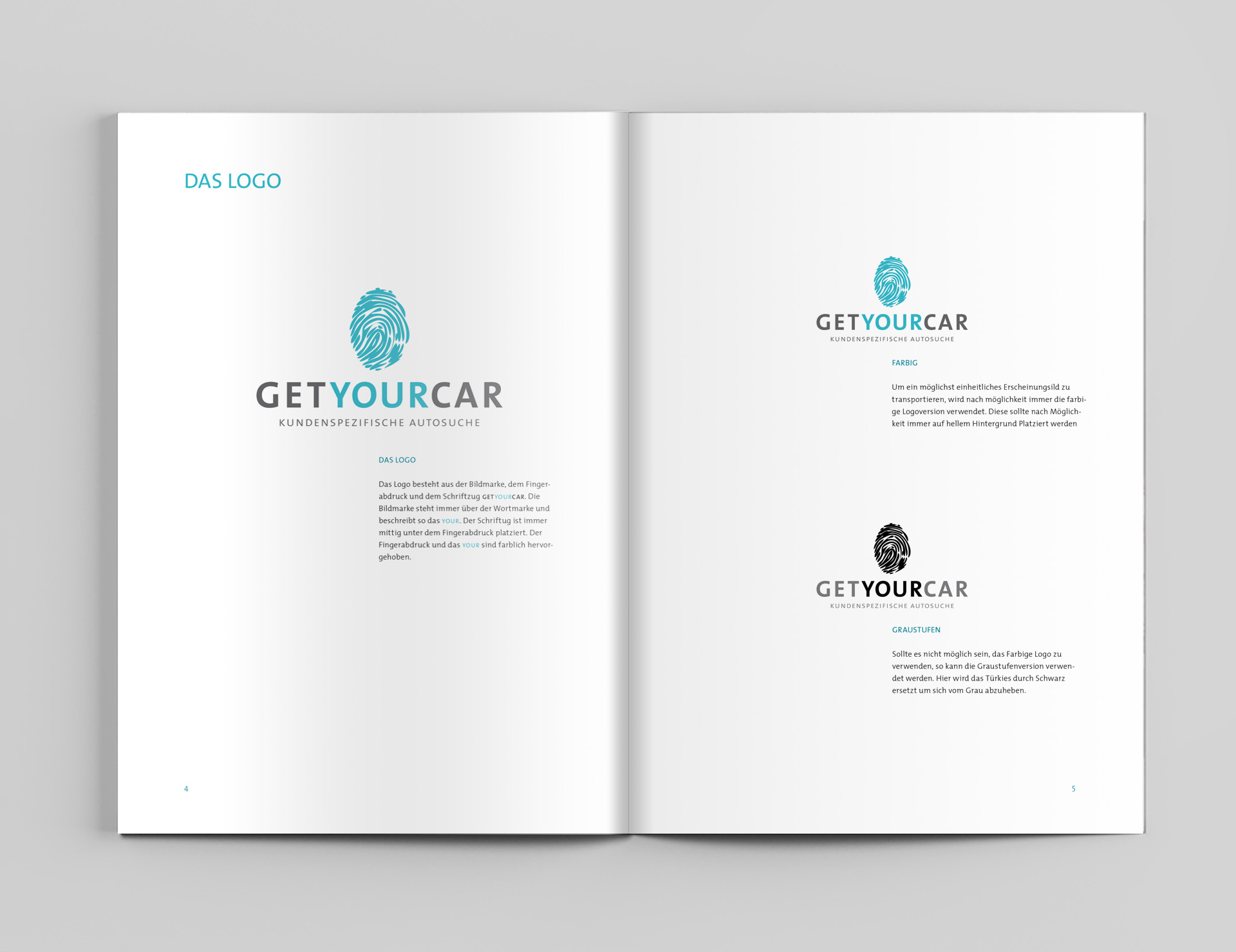 Corporate-Design, Design, Layout, Konzept, Autosuche, Get Your Car, Münster, Grafik, Auto, Bennet Grüttner