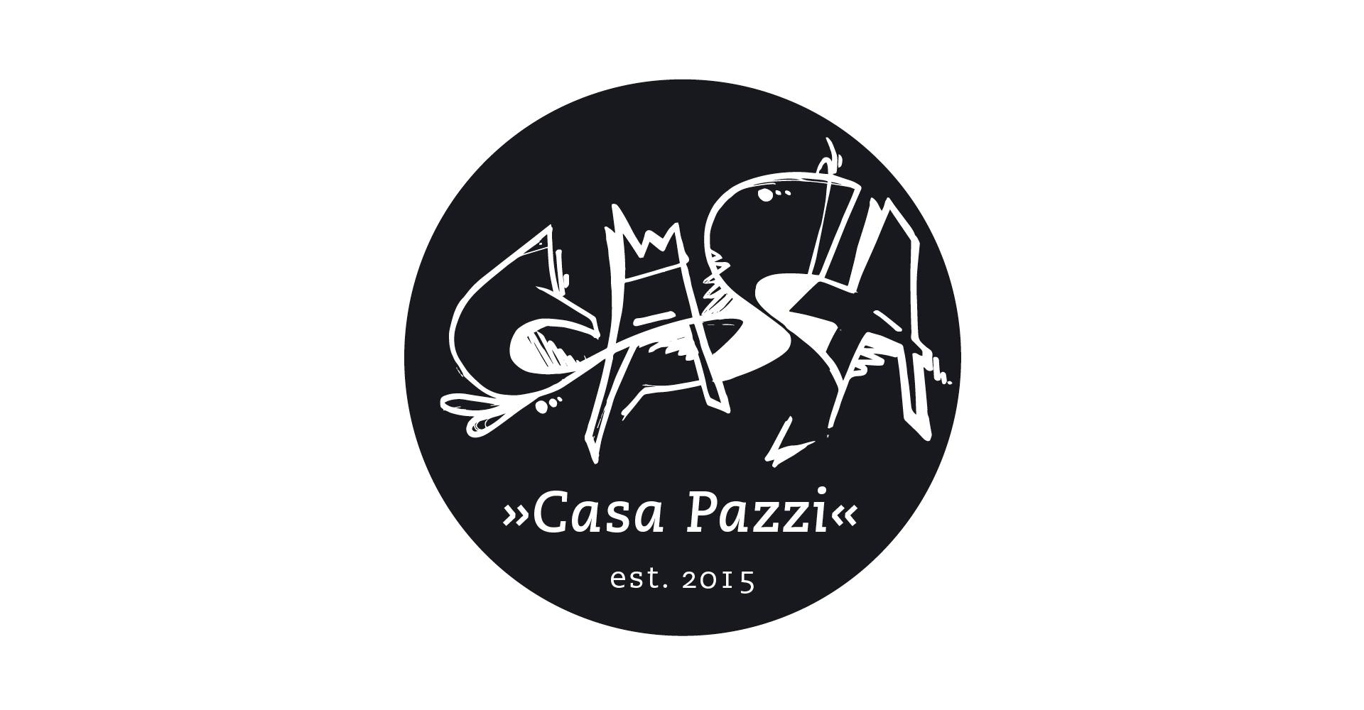 Logo-Design, Casa-Pazzi, Design, Logo, Münster, Grafik, Studio, Auckz