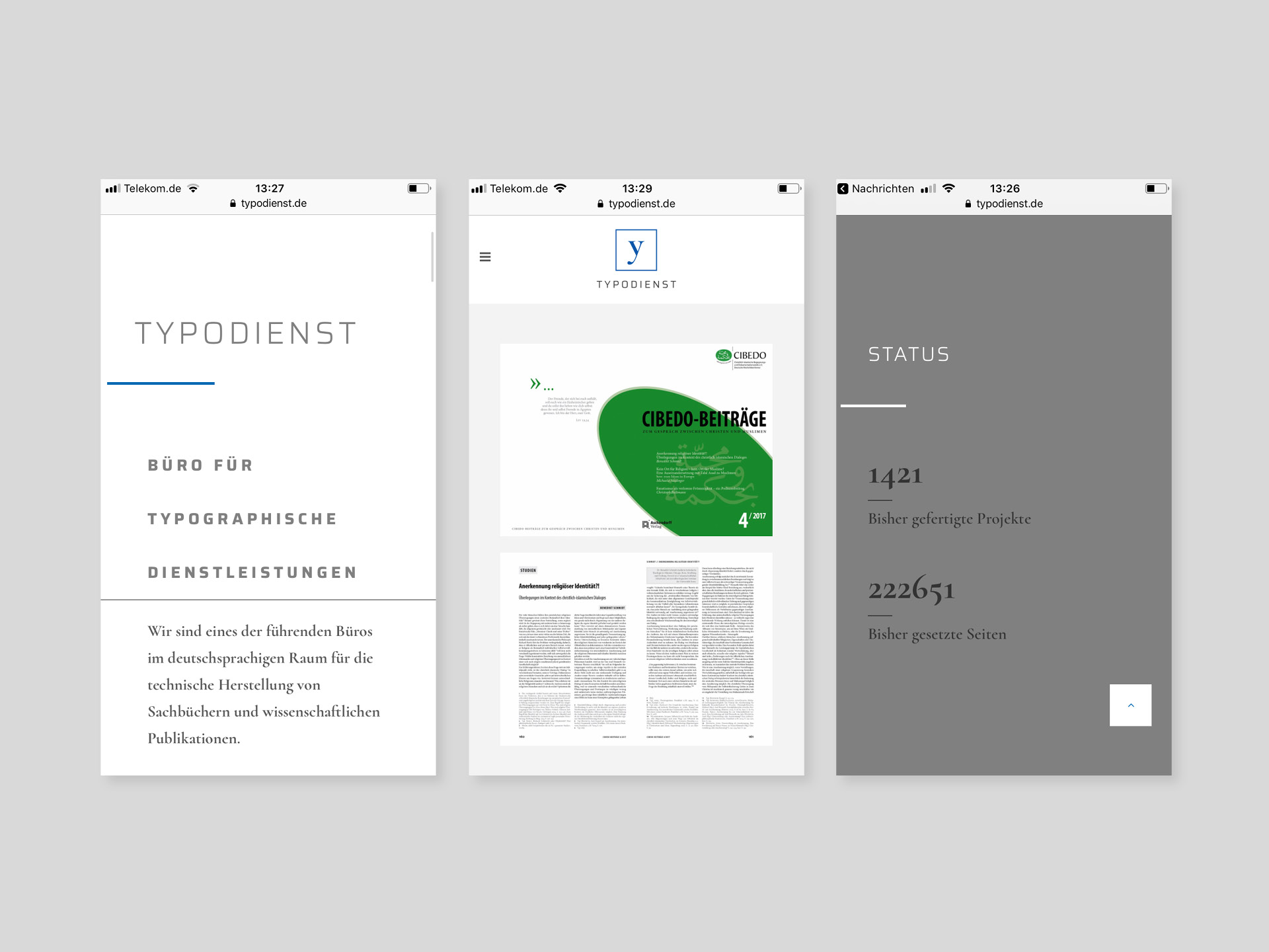 Web-Design, Typodienst, Logo, Design, Typo, Layout, Konzept, Altenberge, Studio Auckz