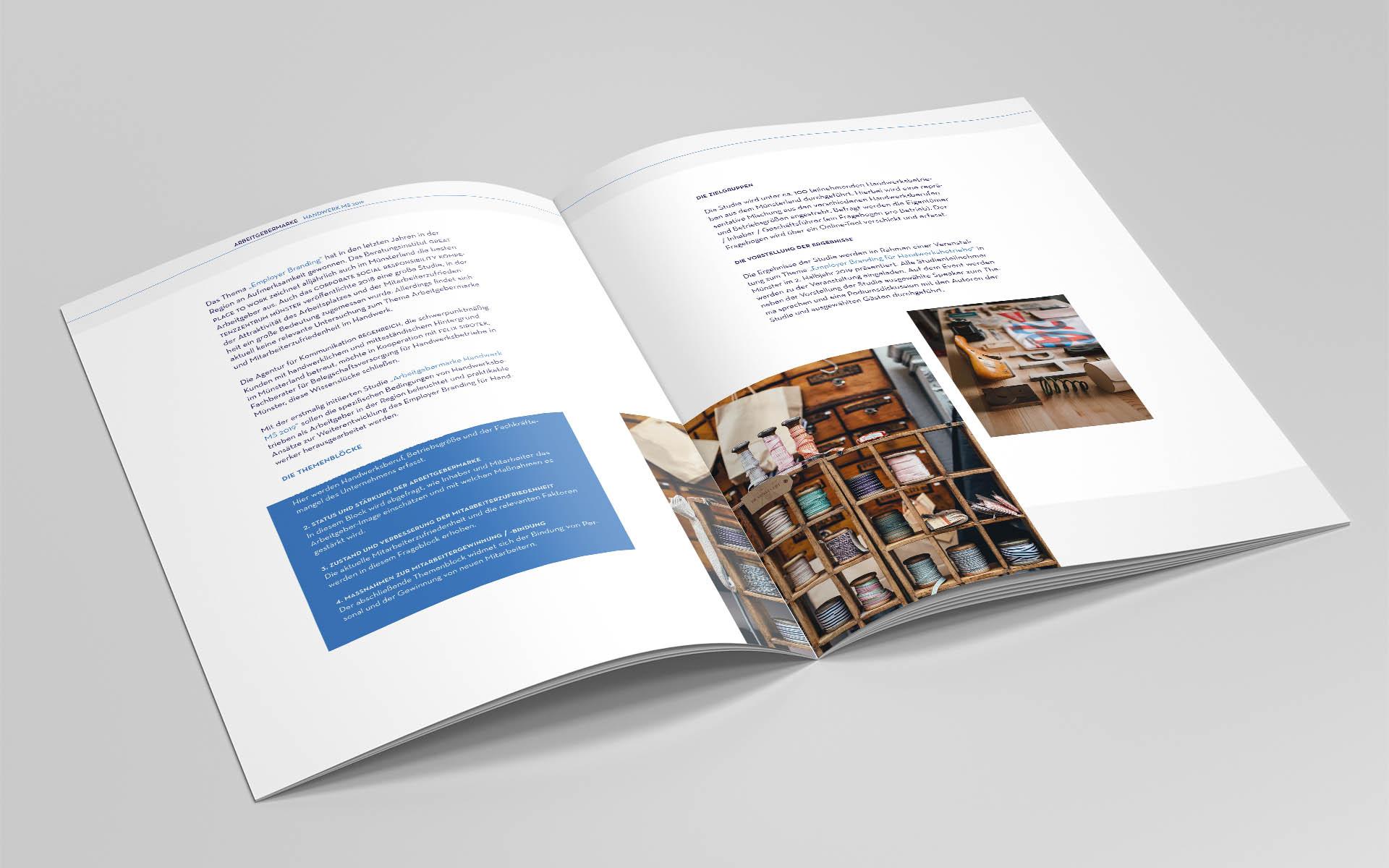 Studie, Design, Konzept, Layout, Münster, Auckz