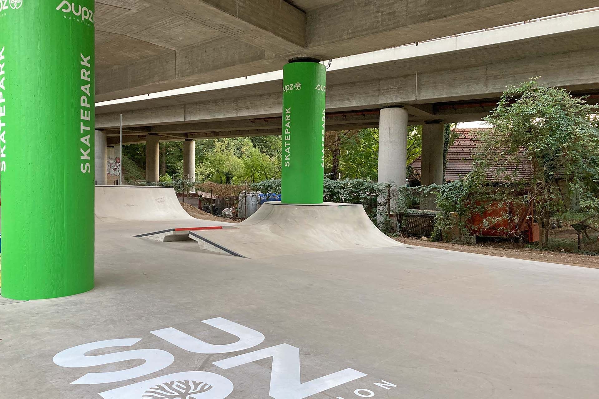 Branding, Brückengestaltung, Skatepark, Tübingen, DSGN Concepts