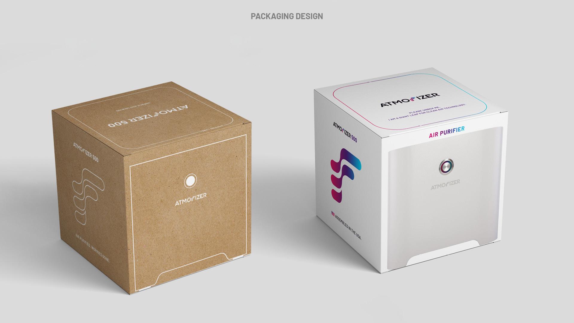 Corporate Design Entwicklung Atmofizer