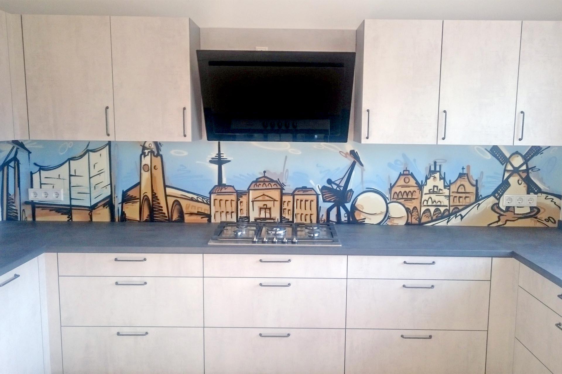 Graffiti Küche Auckz