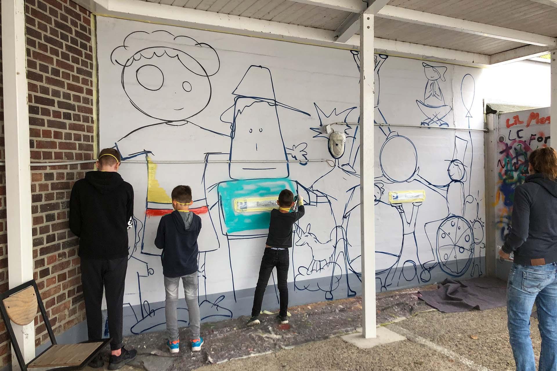 Graffiti Workshop Studierendenwerk Münster