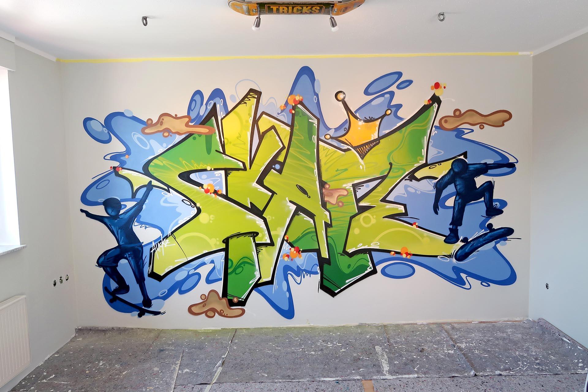 Graffiti Kinderzimmer Auckz