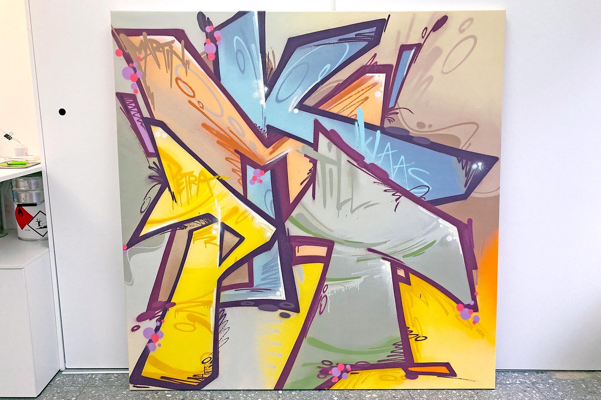 Graffiti Leinwand Auckz