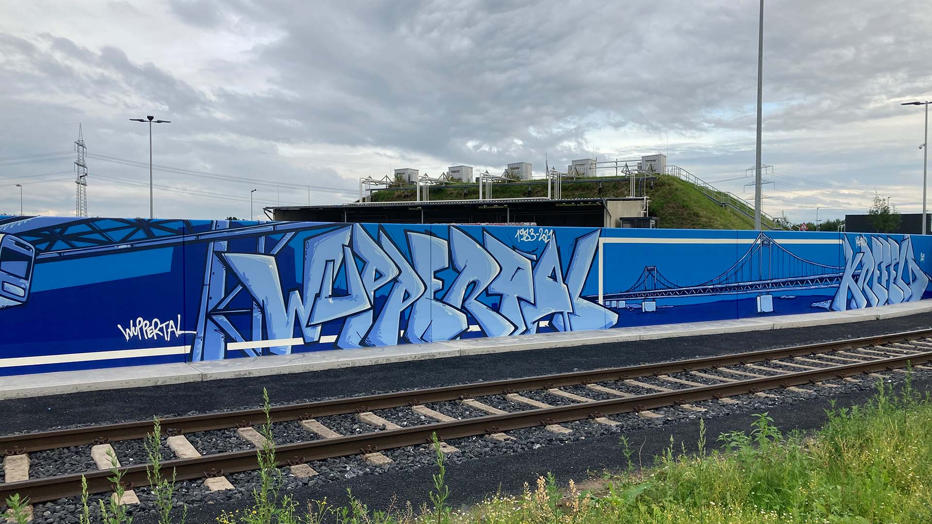 Wuppertal, Graffiti, Caratgas, Unternehmen, Firma, Krefeld, Gaswerk